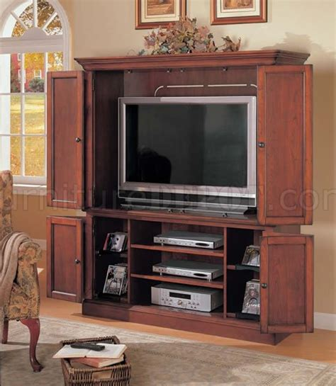 modern tv armoire cherry finish contemporary tv armoire with bottom cabinet