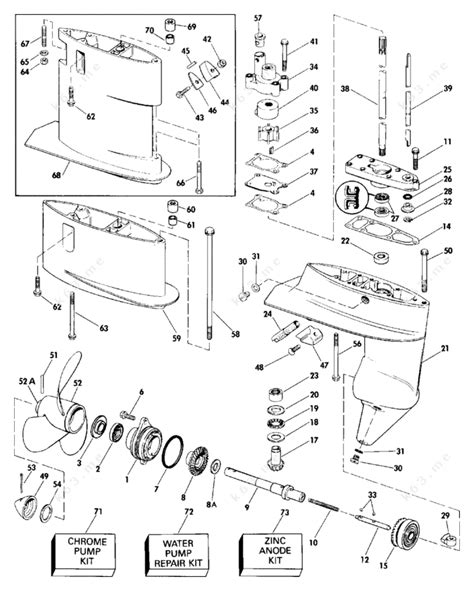 1988 quicksilver throttle parts wiring diagrams