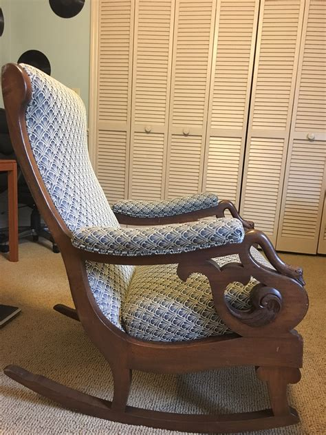Gooseneck Rocking Chair by Gooseneck Rocking Chair For Sale Antiques Classifieds