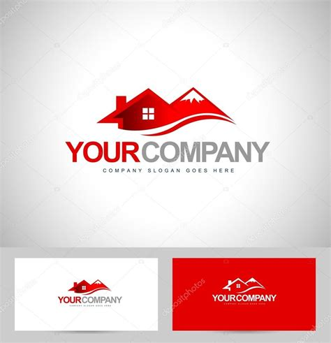 logo design house house logo design stock vector 169 twindesigner 66982551