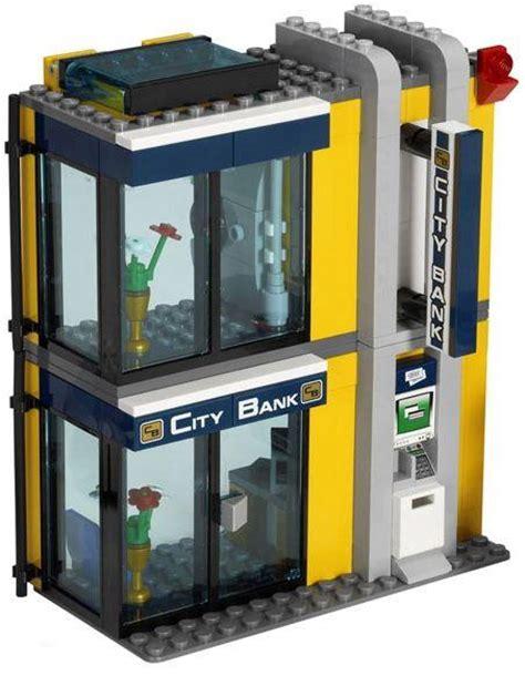 lego bank lego city 3661 bank and money transfer i brick city