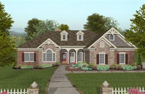 Exterior Stone And Brick Pictures For Large Homes So Brick Home Plans