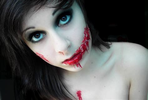 zombie girl makeup tutorial zombie girl by mariemystery on deviantart