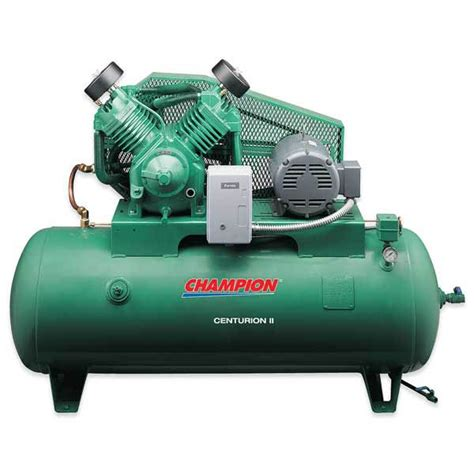 chion 174 heavy duty 10hp 2 stage 120 gal air compressor tp tools equipment