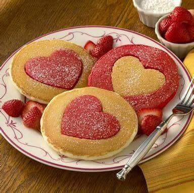 valentines day pancakes pancakes for s day breakfast xcitefun net