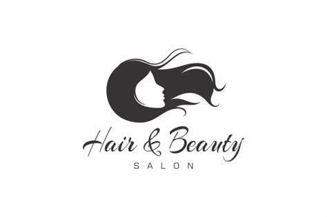 Hair Beauty Salon Logo Logo Templates On Creative Market Hair Salon Logos Templates
