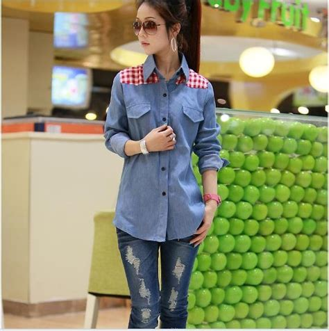 919169 Baju Fashion 3 In 1 Korea Import China Olahraga Milss Out Gaul kemeja import panjang model terbaru jual murah