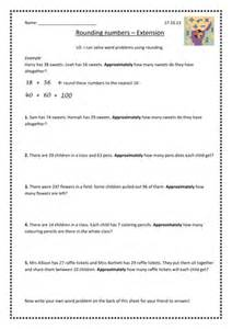 rounding word problems by stub484 teaching resources tes