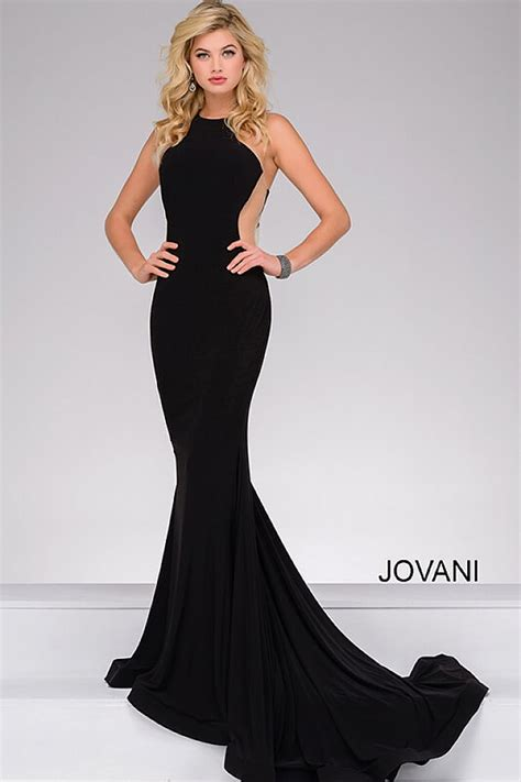 dress with black sides black dress with a high neckline and sheer side panels