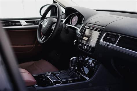 volkswagen touareg 2017 interior review 2017 volkswagen touareg execline canadian auto