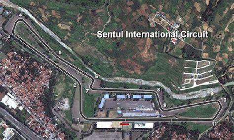 layout sirkuit sentul yang baru ada peluang jadi tuan rumah motogp 2017 sirkuit sentul