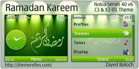nokia c3 islamic themes ramadan kareem theme for nokia c3 x2 01 themereflex