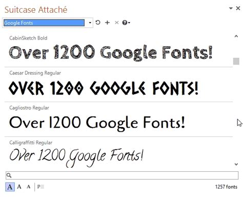 typography powerpoint extensis launches next generation font menu for microsoft
