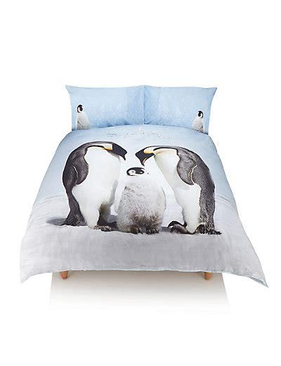 Penguin Bed Set Penguin Family Bedding Set M S