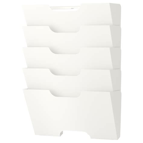 ikea mail organizer kvissle wall newspaper rack white ikea