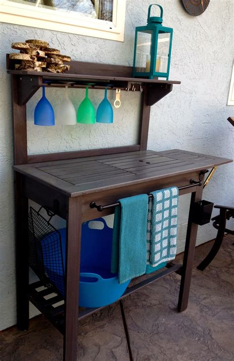 world market potting bench 25 best ideas about potting bench bar on pinterest