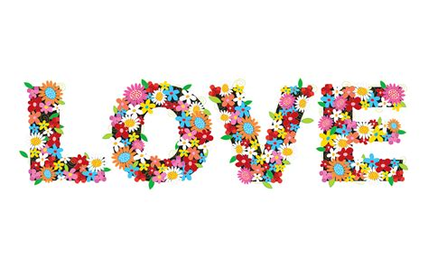 wallpaper flower i love you flowers love wallpapers hd wallpapers id 6572
