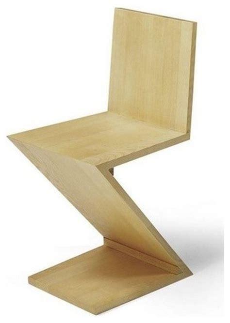 gerrit rietveld zig zag chair modern dining chairs