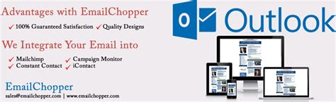 Responsive Email Templates For Outlook 2007 2010 2013 Email Chopper Create Custom Email Template Outlook 2010