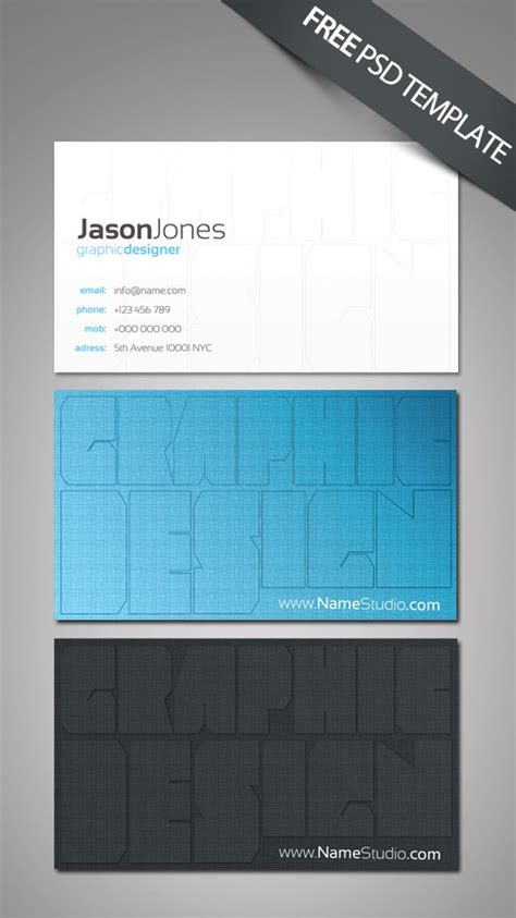 uga business card template 100 free psd business card templates