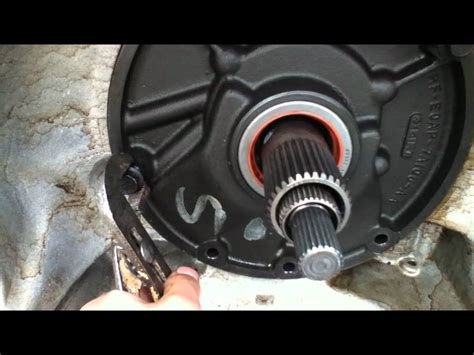 transmission front pump removal eod youtube