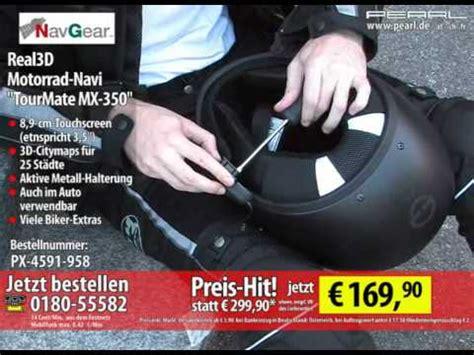 Youtube Motorrad Navi by Real3d Motorrad Navi Tourmate Mx 350 Deutschland Mit 2