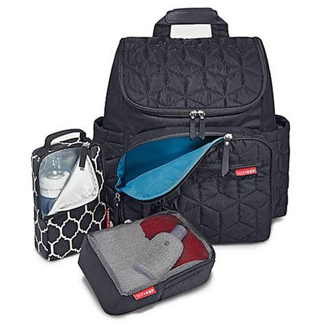 Lt P Da Backpack skip hop 174 forma backpack bag in black buybuy baby