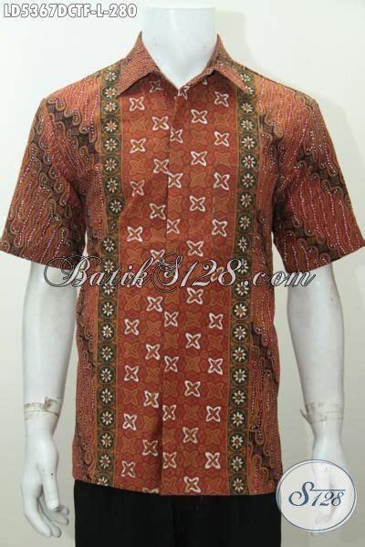 Hem Batik Dolbi jual baju hem lengan pendek batik cap tulis produk busana batik terkini dengan bahan dolby