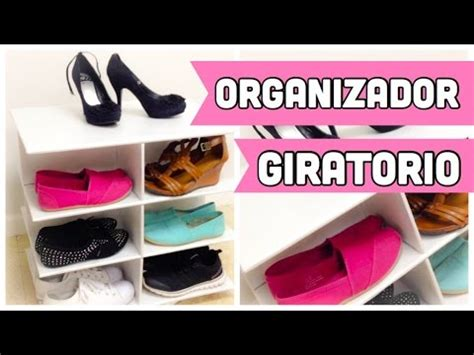 organizador de zapatos en www comprasin com youtube organizador de carton para zapatos giratorio youtube