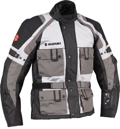 Genuine Suzuki Men S Enduro Textile Riding Jacket