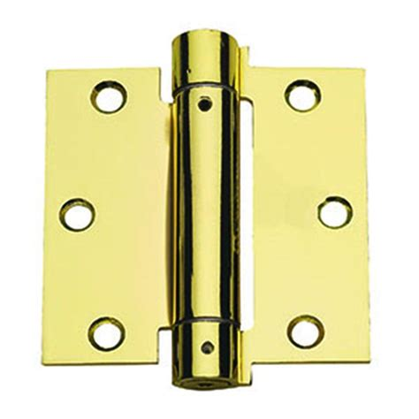 global door controls 3 5 in x 3 5 in satin nickel plain