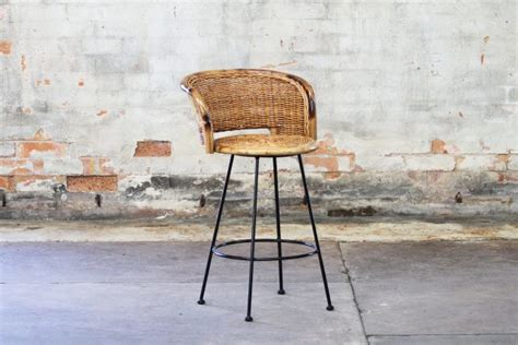 Bar Stools Palm Springs by Palm Springs Barstool Naturally Rattan And Wicker