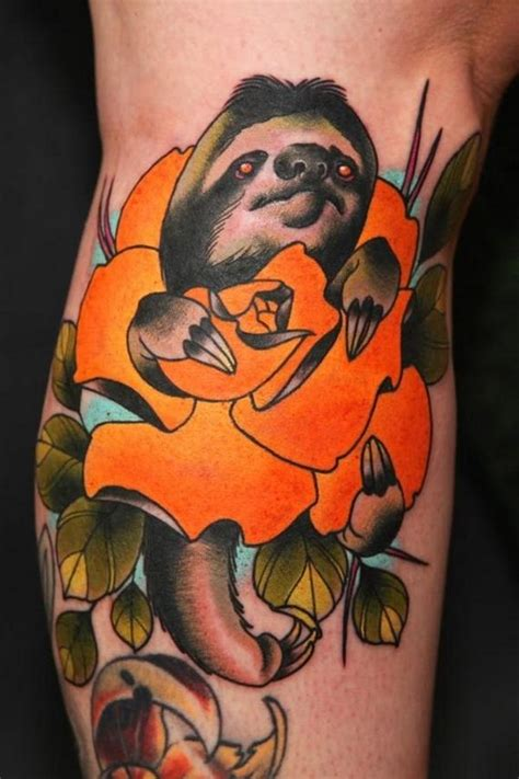 best tattoos of all time of the best sloth tattoos of all time barnorama