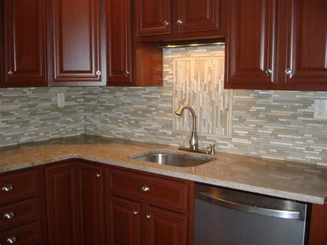 tumbled marble backsplash new jersey custom tile glass and stone backsplash new jersey custom tile