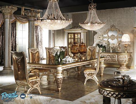 Kursi Davinci set meja makan mewah ukir klasik davinci terbaru royal