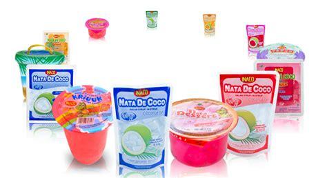 desain kemasan nata de coco jual nata de coco harga murah bekasi oleh pt niramas utama