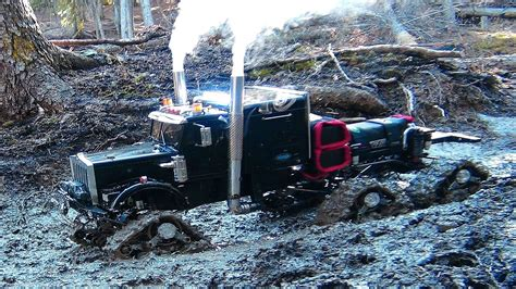 road beast mud bog truck is a rc 4x4 semi truck road