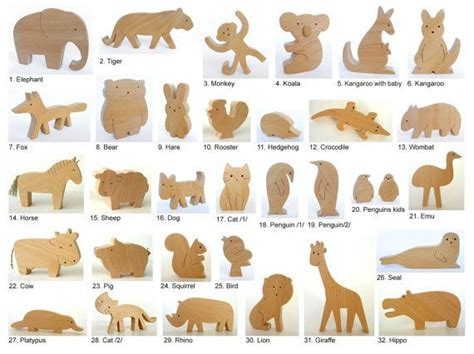 wood animal pattern free woodworking project plans for beginners