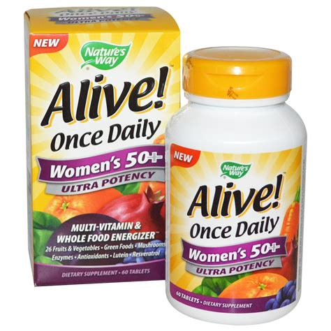 Vitamin Vitasol nature s way alive once daily s 50 multi vitamin 60 tablets iherb