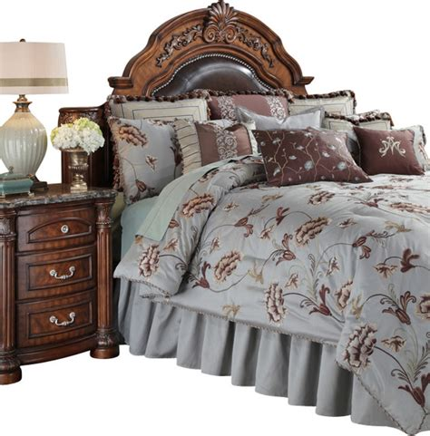 enchantment king size comforter bedding set 13 piece