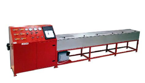 hydrostatic test bench hose test bench for hydrostatic testing pressures to