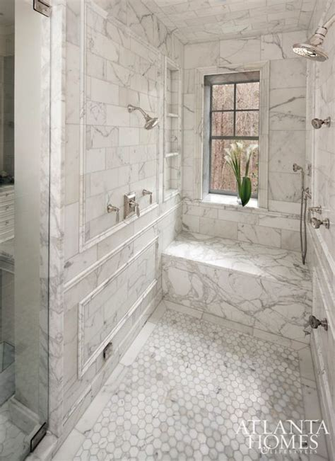 marble shower bench walk in shower with bench and shelves windows