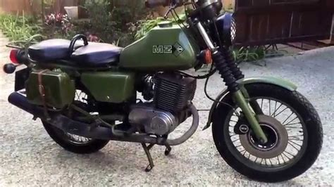 Motorradw Zschop Mz by Las Motocicletas Alemanas Despu 233 S De La Segunda Guerra