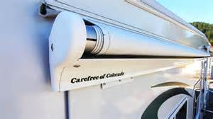 Slide Topper Awning How To Replace A Carefree Of Colorado Rv Slide Topper