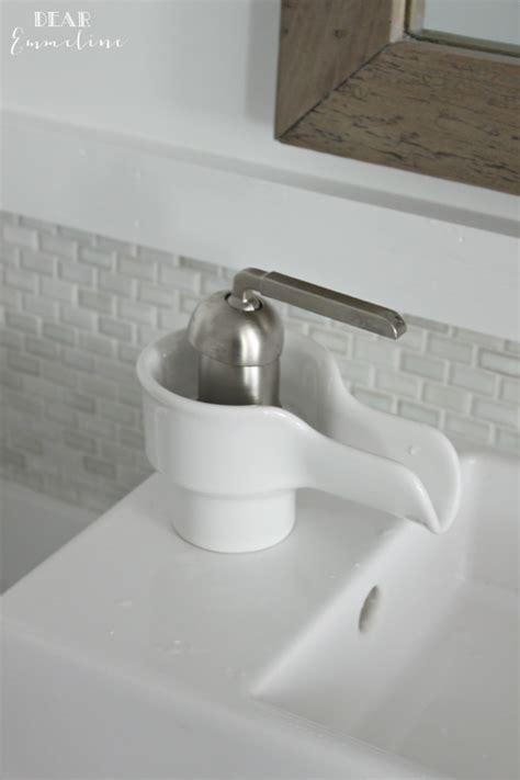 Kohler Bol Faucet by Narrow Half Bathroom Reveal 1910 Home Renovation