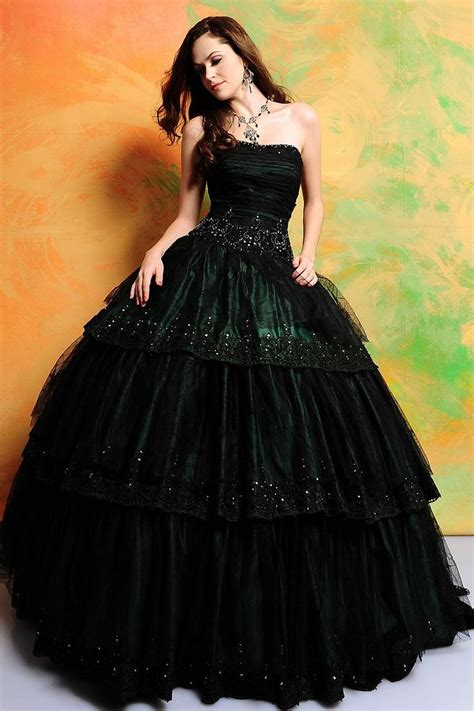 green cocktail black black and green ball gowns www pixshark com images