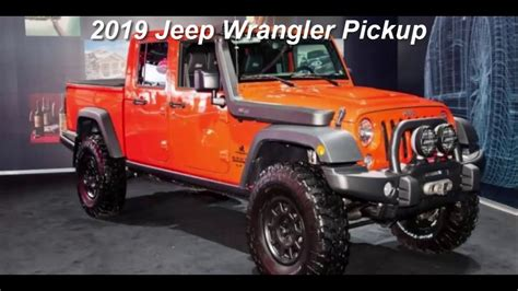 2019 Jeep Truck News by 2019 Jeep Wrangler