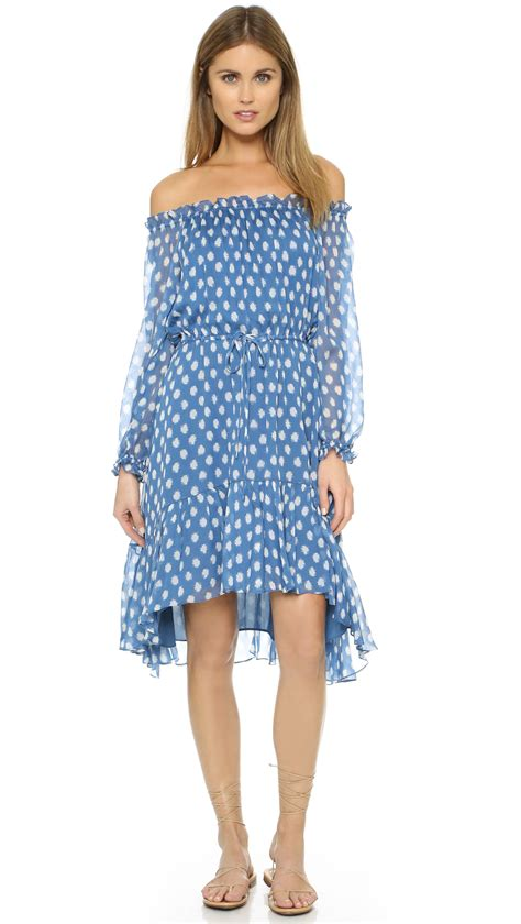 Dvf Dresses by Diane Furstenberg Camila Dress In Blue Lyst