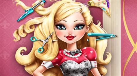 real haircuts games ever after high pure princess real haircuts ever after high apple white