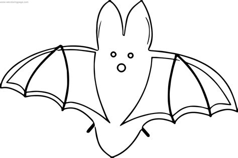 Set Bat set bat coloring page wecoloringpage